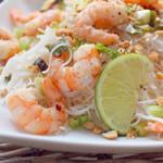 Shrimps-Reisnudel-Salat
