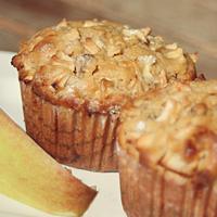 Apfel-Kirsch-Muffins