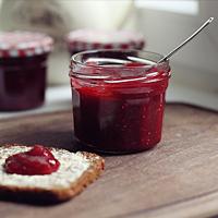 Himbeer-Rhabarber-Marmelade