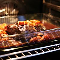 Rezept Weihnachtsbraten mit Glühweinsauce