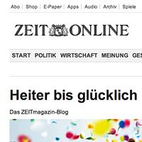 Blogvorstellung Zeit-Magazin
