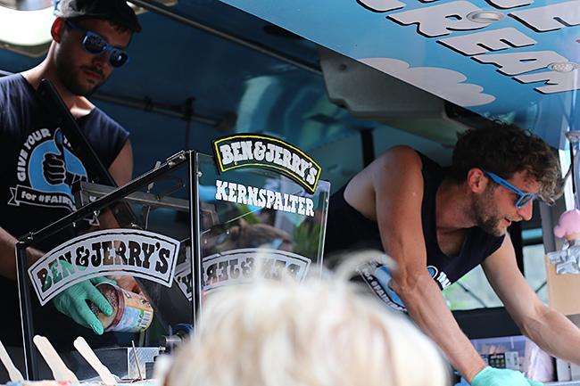 Ben & Jerrys Taste & Tunes Tour 2014 in Düsseldorf
