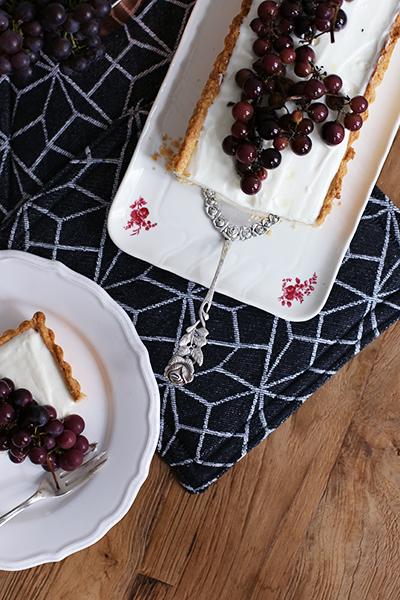 Foodblog Rezept Traubentarte mit Ziegenkäse