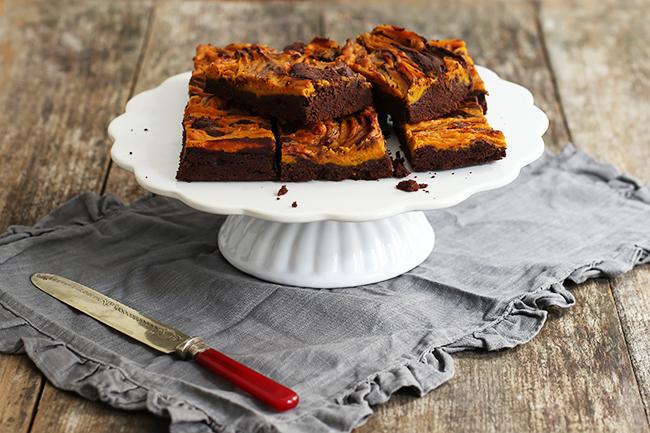 Rezept Kürbis Brownies