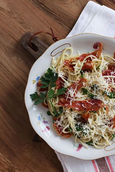 Rezept Spaghetti Aglio Olio