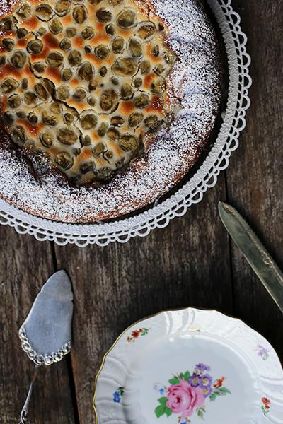 Rezept Stachelbeer-Marzipan-Kuchen
