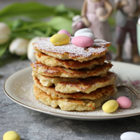 Osterrezept Mango Pancakes