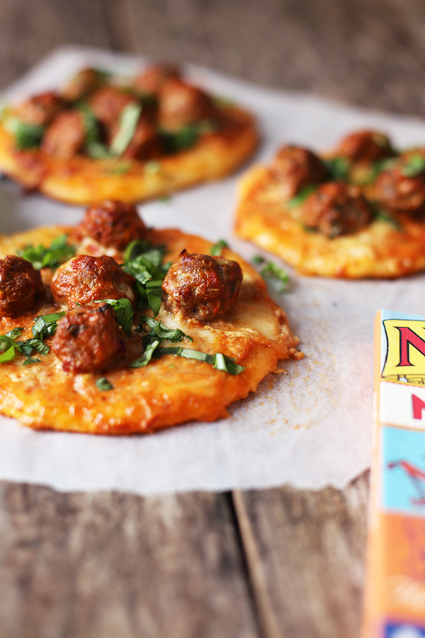 Rezept New York Meatball-Pizza