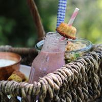 Rezept Erdbeer-Chia-Shake