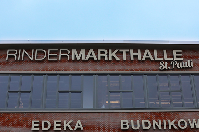 Rindermarkthalle St. Pauli Hamburg