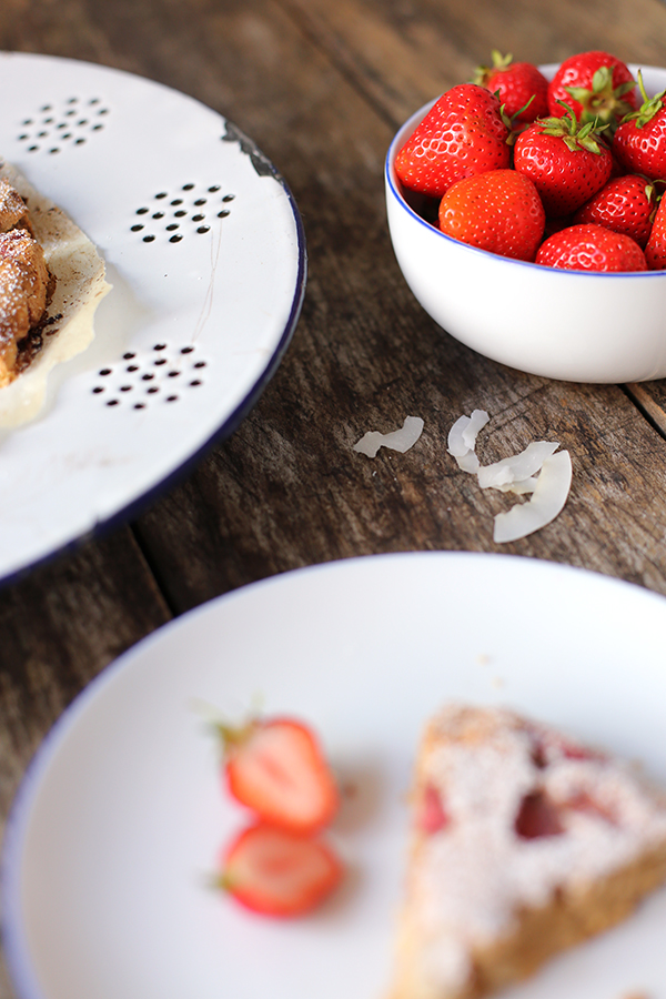 Rezept Erdbeer-Kokos-Scones
