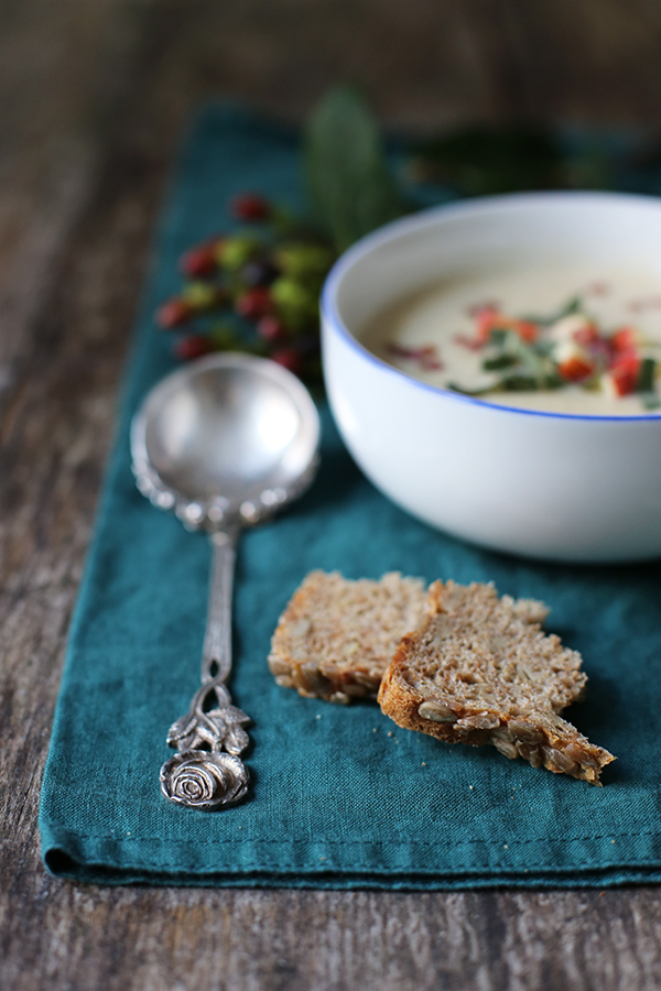Rezept Apfel-Sellerie-Suppe