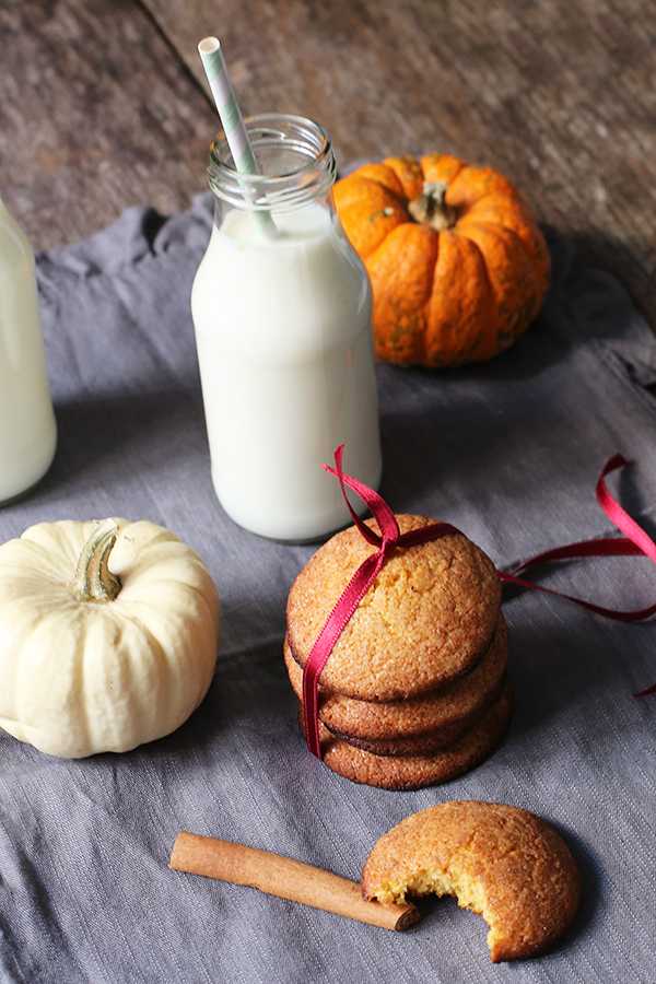 Pumpkin-Snickerdoodle-Cookies