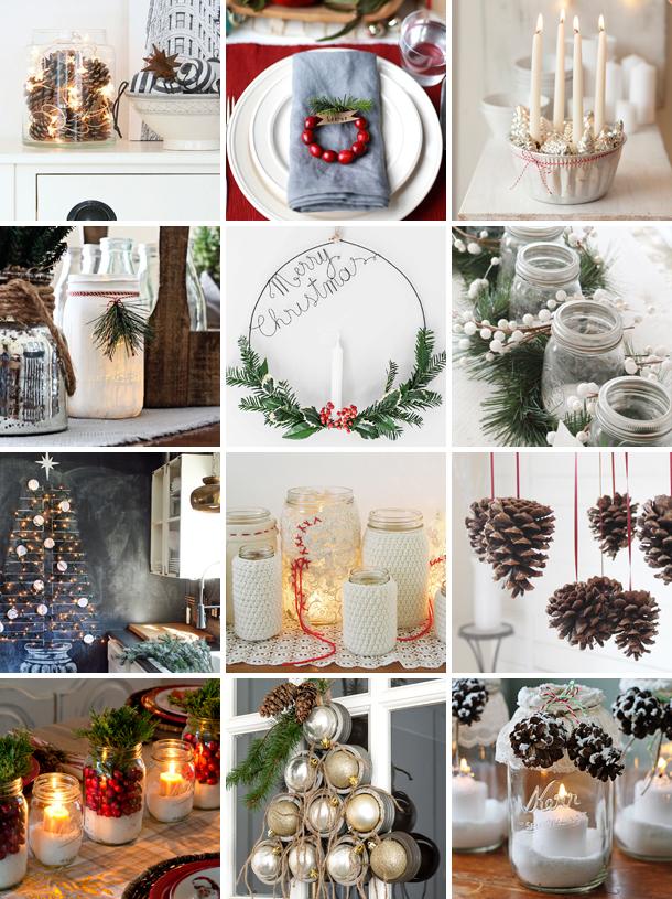 Inspiration Weihnachtsdekoration
